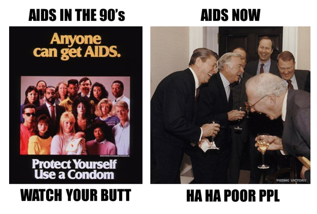 aids then and now